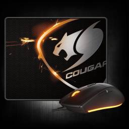 Combo Mouse Cougar Minos + MOUSEPAD SPEED